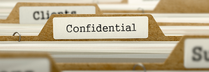 confidential patient information